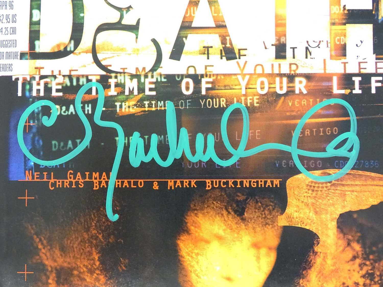 DEATH: THE TIME OF YOUR LIFE #1 - (DC/VERTIGO - 1996) - Signed to Front Cover by Chris Bachalo - Image 10 of 11
