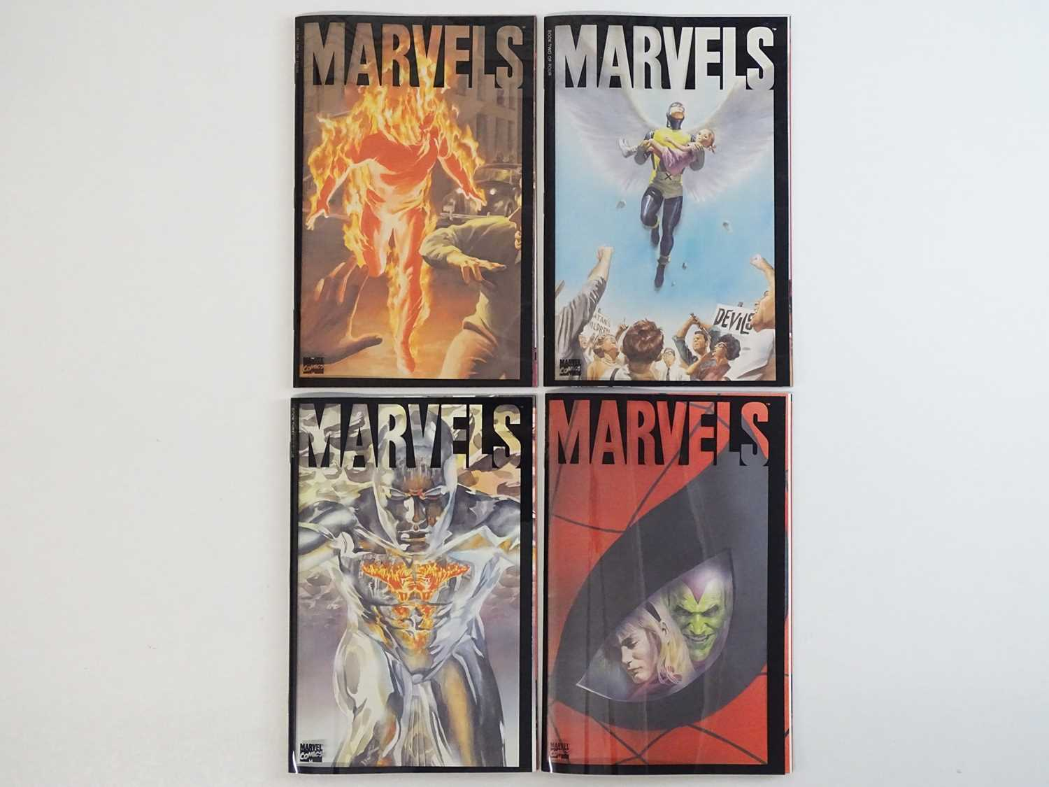 MARVELS #1, 2, 3, 4 - (4 in Lot) - (1994 - MARVEL) Includes complete four (4) issue limited series +