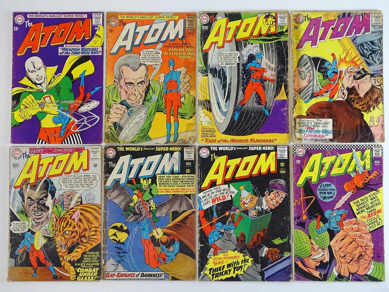 ATOM #13, 16, 17, 18, 21, 22, 23, 26 - (8 in Lot) - (1964/66 - DC - UK Cover Price) - Includes