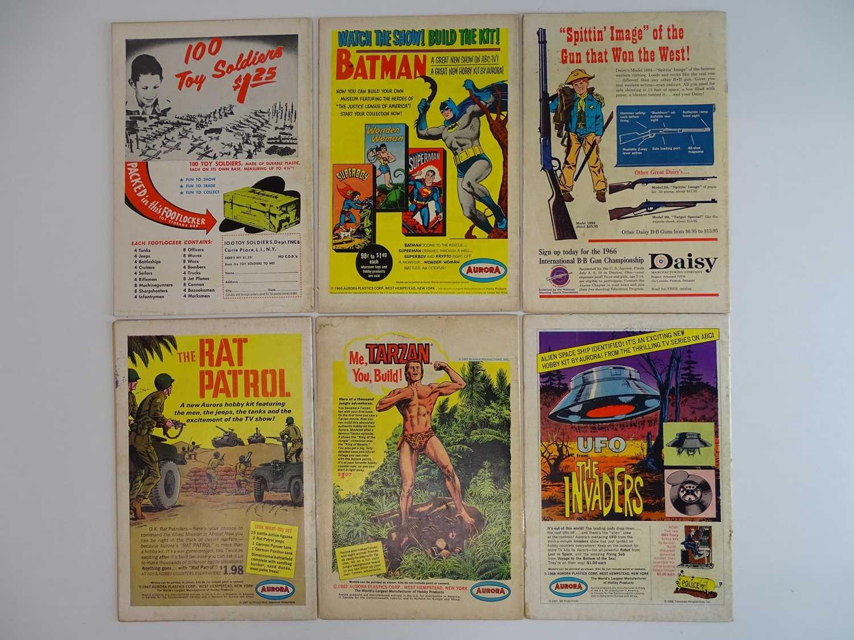 AQUAMAN #6, 27, 28, 33, 36, 39 - (6 in Lot) - (1962/68 - DC - UK Cover Price) - Includes Aqualad, - Image 2 of 2