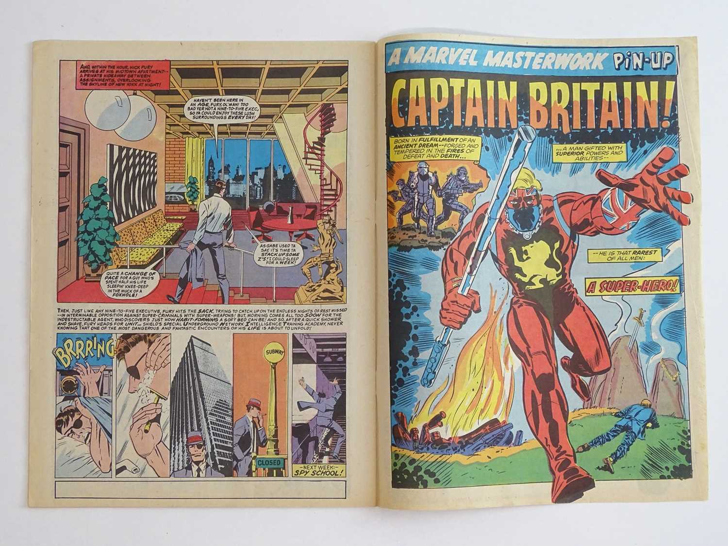CAPTAIN BRITAIN #1 - (1976 - BRITISH MARVEL) - Origin and First appearance of Captain Britain - Image 5 of 12