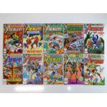AVENGERS #205, 206, 207, 208, 209, 210, 211, 212, 213, 214 - (10 in Lot) - (1980/81 - MARVEL) -