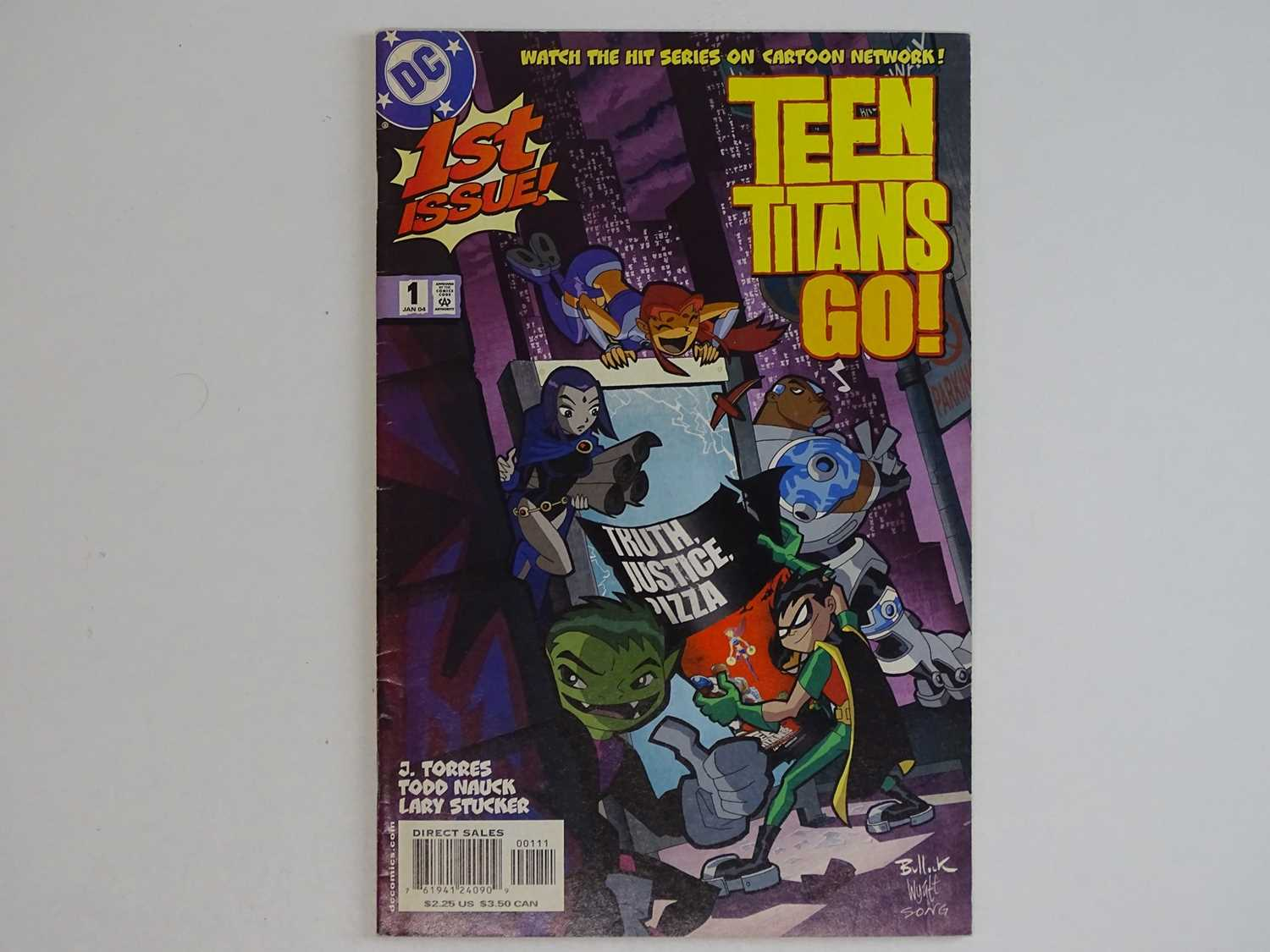 TEEN TITANS GO #1 - (2004 - DC) - First Printing - RARE - Comic book series based on the hit