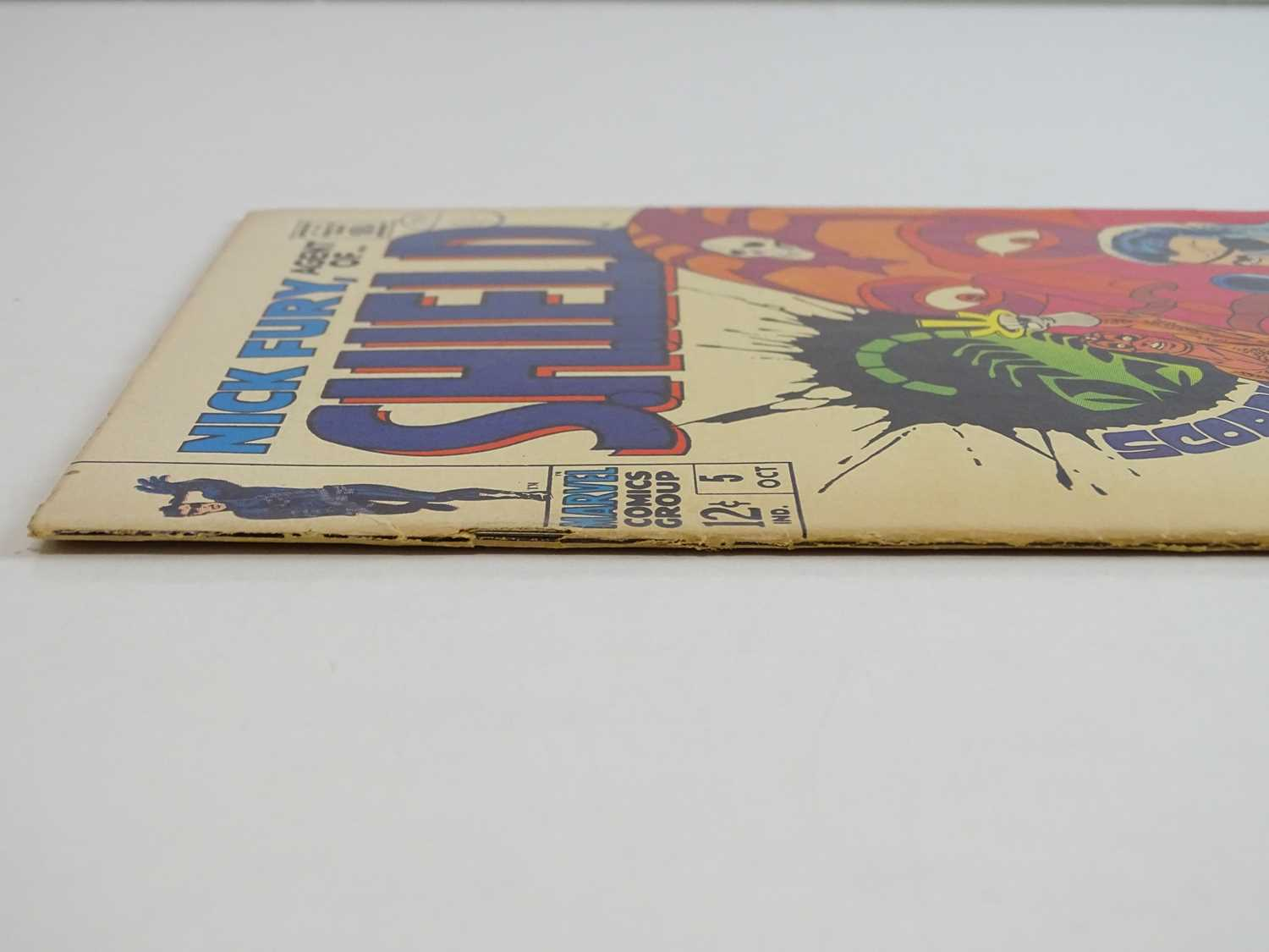 NICK FURY: AGENT OF SHIELD #5 - (1968 - MARVEL - UK Cover Price) - Classic Cover - Jim Steranko - Image 8 of 9