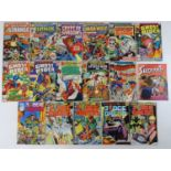MIXED LOT MARVEL, QUALITY, APPROVED, EAGLE COMICS - (17 in Lot) - Includes DOCTOR STRANGE #13 (1976)