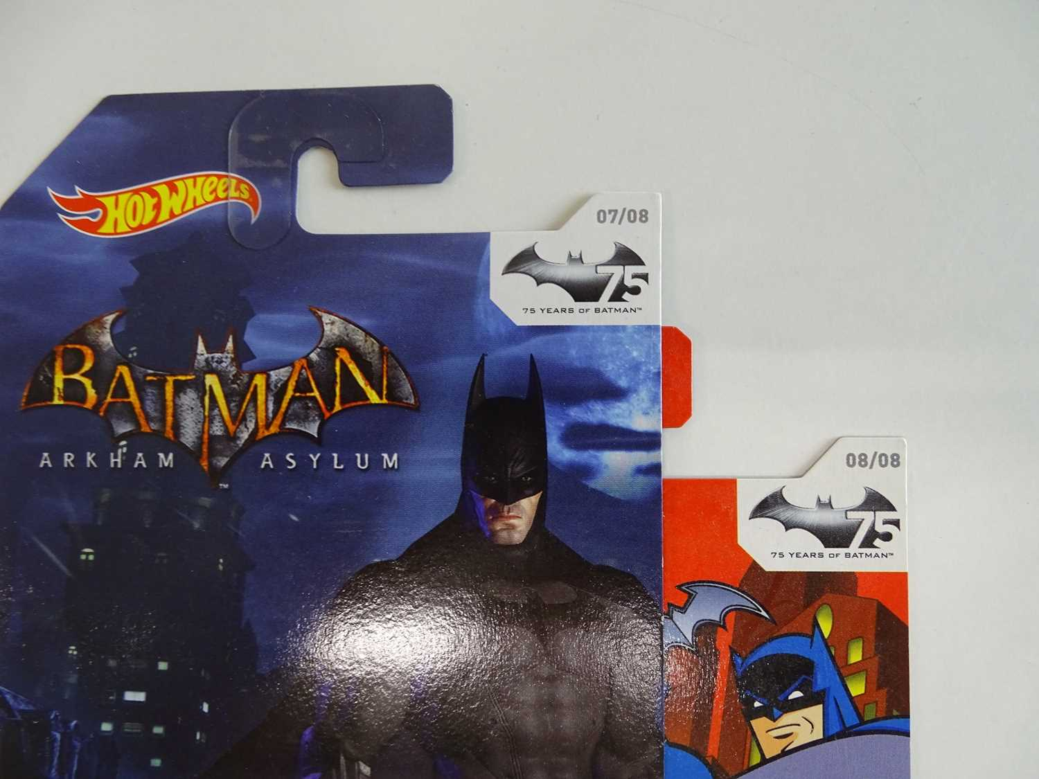 BATMAN LOT (9 in Lot) - Selection of various Batmobiles (8) from Hot Wheels all presented sealed - Image 7 of 7