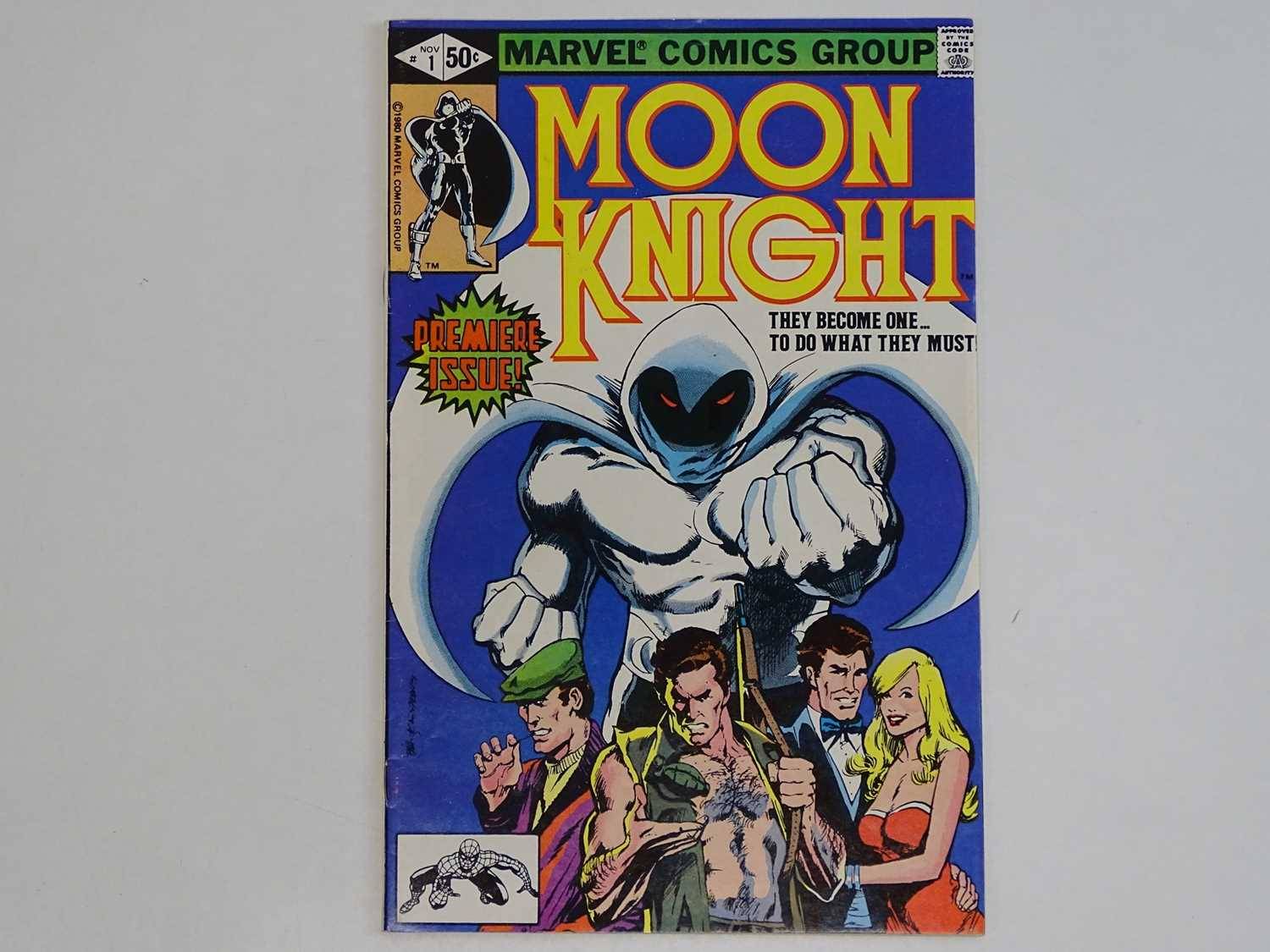 MOON KNIGHT #1 - (1980 - MARVEL) - HOT BOOK - Origin of Moon Knight + First appearance of the