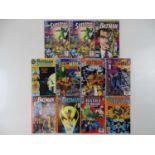 DC COMICS LOT - (11 in Lot) - (DC) - Includes SUPERMAN #74 (x 2) - (1992) + BATMAN ANNUAL #14 (1990)