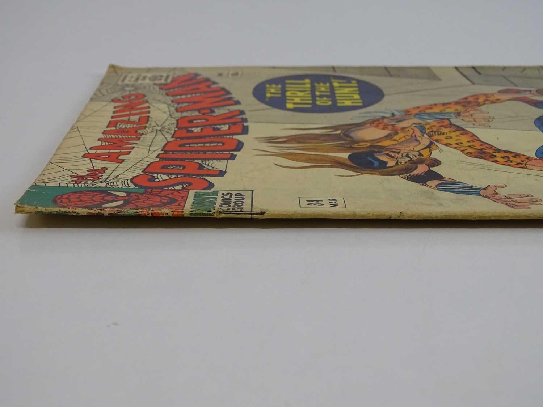 AMAZING SPIDER-MAN #34 - (1966 - MARVEL - UK Price Variant) - Fourth appearance of Kraven the Hunter - Image 8 of 9
