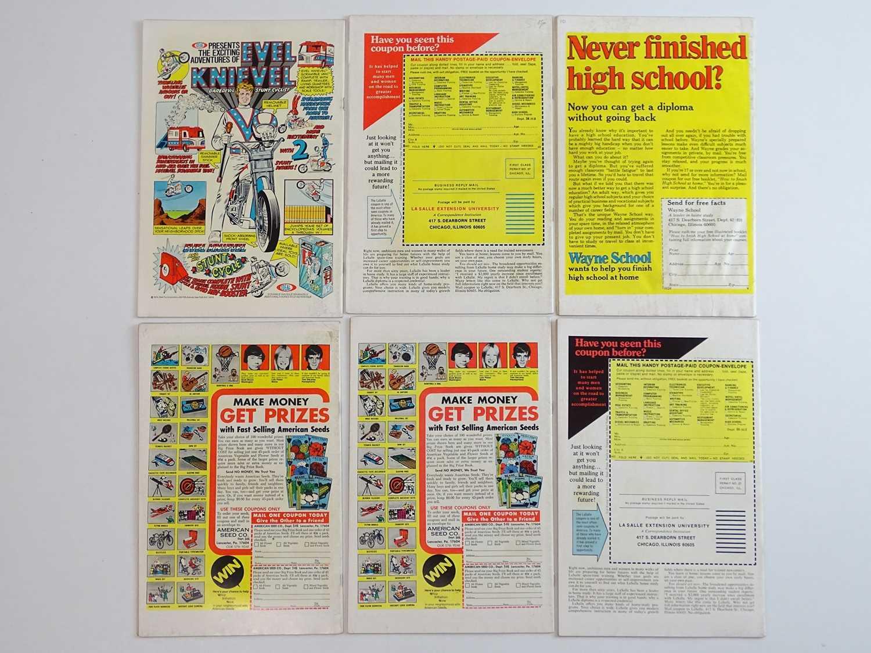 MAN-THING #2, 12, 16, 17, 18, 19 - (6 in Lot) - (1974/75 - MARVEL - US Price & UK Price Variant) - - Image 2 of 2