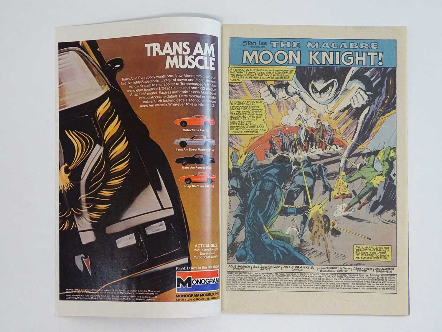 MOON KNIGHT #1 - (1980 - MARVEL) - HOT BOOK - Origin of Moon Knight + First appearance of the - Image 3 of 9