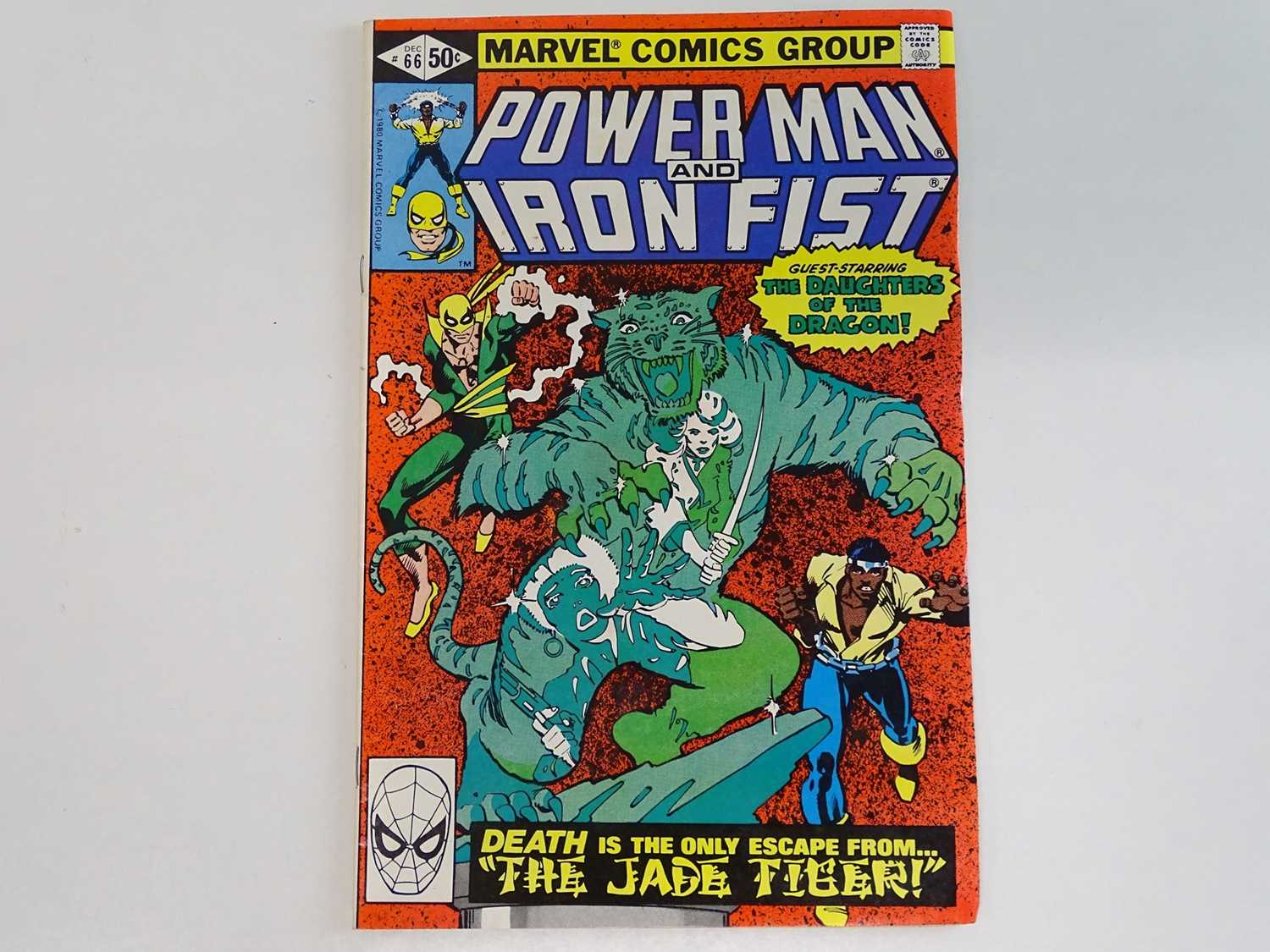 POWER MAN & IRON FIST #66 - (1980 - MARVEL) Second appearance of Sabretooth + Misty Knight,