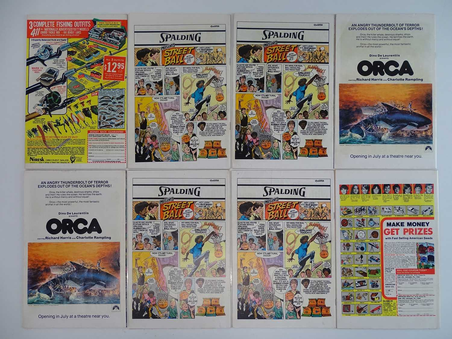 THOR #260, 261, 262, 263, 264, 265, 266, 269 - (8 in Lot) - (1977/78 - MARVEL - UK Price - Image 2 of 2