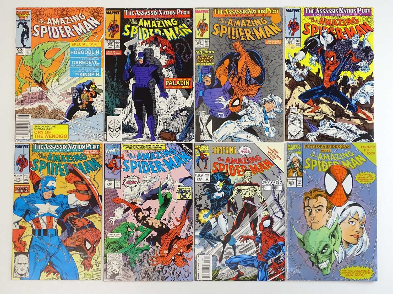 AMAZING SPIDER-MAN #277, 320, 321, 322, 323, 342, 393, 394 - (8 in Lot) - (1986/94 - MARVEL) -