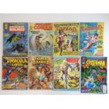 MIXED COMIC LOT - (8 in Lot) - MARVEL, BYBLOS, TOP COW, EIDOS, FLEETWAY - Includes MARVEL PREVIEW: