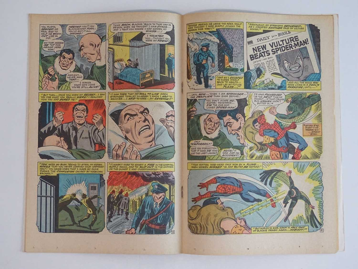 AMAZING SPIDER-MAN #63 - (1968 - MARVEL - UK Cover Price) - The original Vulture (Adrian Toomes) and - Image 5 of 9