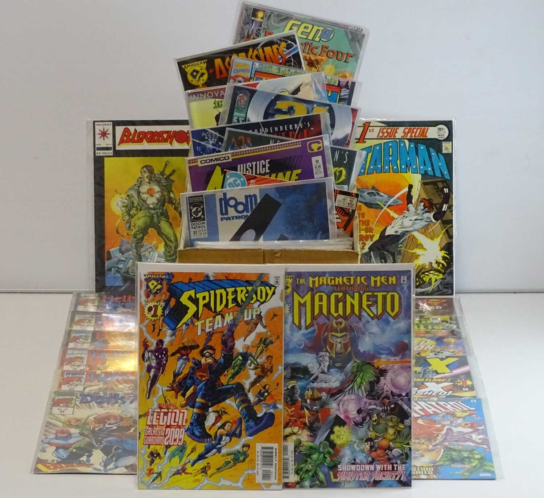 EXCALIBUR LUCKY DIP JOB LOT 300+ COMICS - Includes MARVEL, AMALGAM, VALIANT, INNOVATION, DC, BIG,