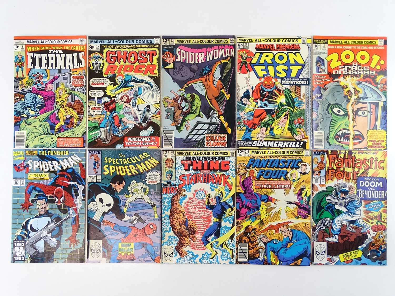 MARVEL COMICS LOT - (10 in Lot) - (MARVEL - UK Price Variant) - Includes ETERNALS #8 (1977) +