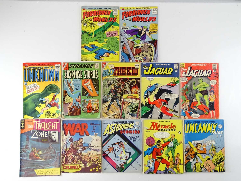 MIXED LOT OF ACG (AMERICAN COMICS GROUP), CHARLTON, ARCHIE, GOLD KEY, ALAN CLASS COMICS - (12 in