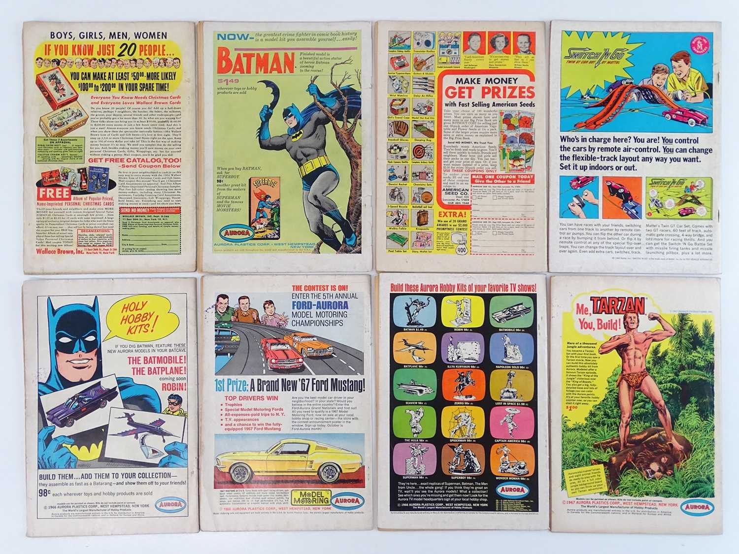 ACTION COMICS: SUPERMAN #315, 324, 336, 341, 342, 344, 346, 356 - (8 in Lot) - (1964/67 - DC - UK - Image 2 of 2