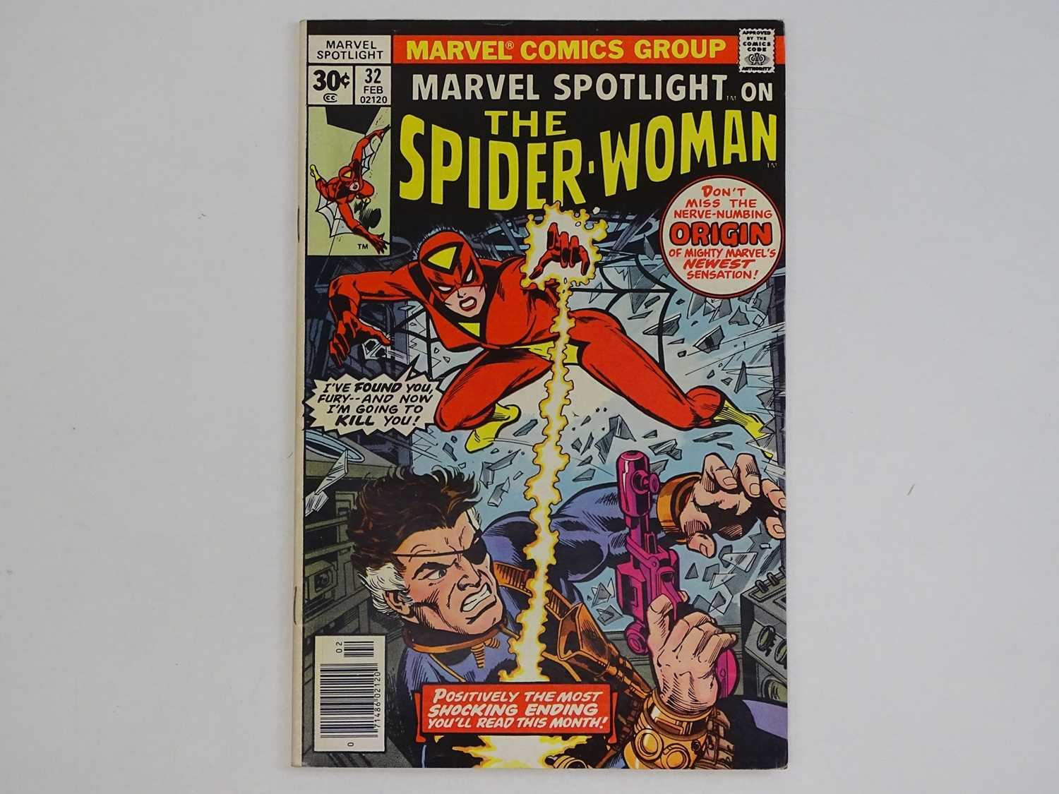 MARVEL SPOTLIGHT: SPIDER-WOMAN #32 - (1977 - MARVEL) - Origin and First appearance of Spider-Woman +