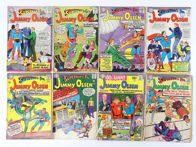 SUPERMAN'S PAL: JIMMY OLSEN #78, 81, 89, 91, 92, 94, 95, 96 - (8 in Lot) - (1964/66 - DC - UK