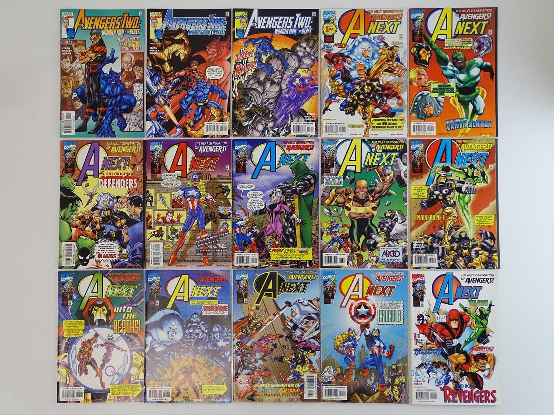 AVENGERS TWO: WONDER MAN & BEAST + AVENGERS NEXT LOT - (15 in Lot) - (MARVEL) - Includes AVENGERS