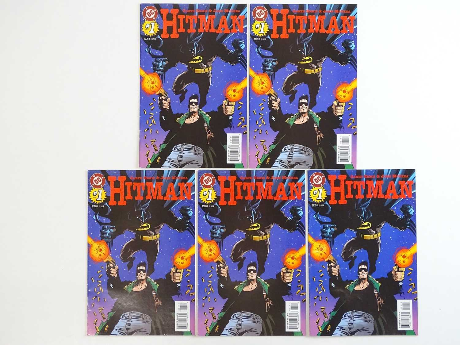 HITMAN #1 - (5 in Lot) - (1996 - DC) - First Printing - Five (5) #1 issues for the DC ongoing series