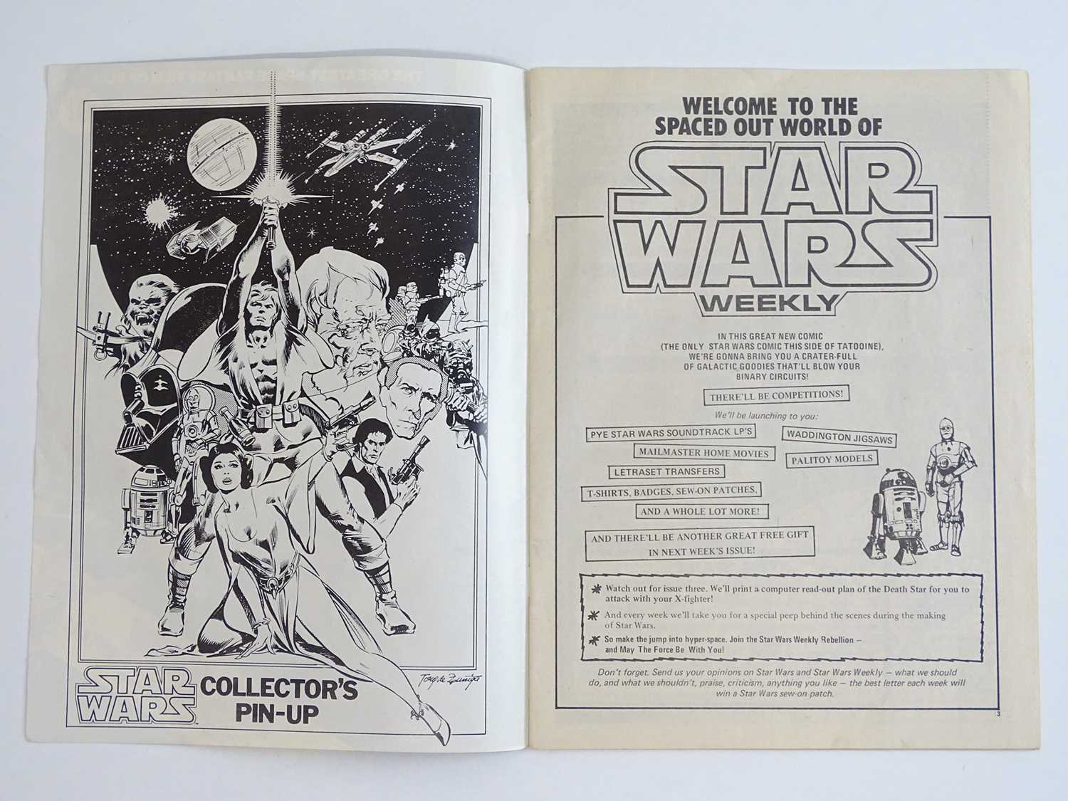 STAR WARS WEEKLY #1 - (1978 - BRITISH MARVEL) - Part one of the official comics adaptation of the - Image 3 of 10