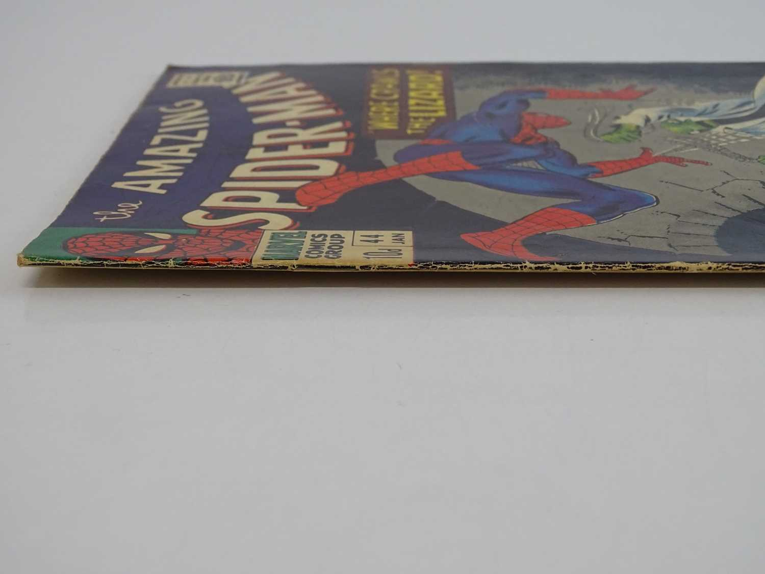 AMAZING SPIDER-MAN #44 - (1966 - MARVEL - UK Price Variant) - Second appearance of the Lizard - John - Image 8 of 9