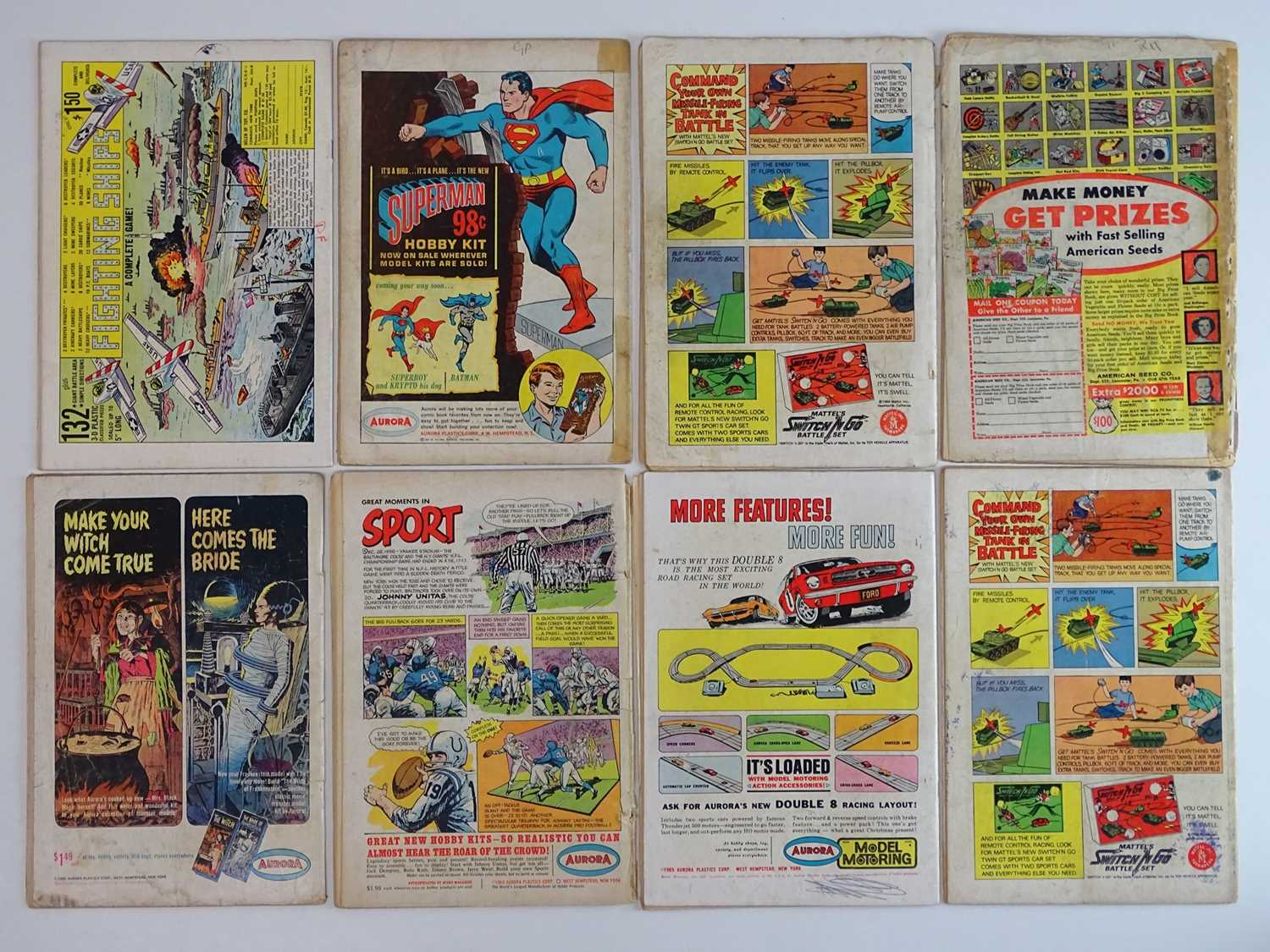 ATOM #13, 16, 17, 18, 21, 22, 23, 26 - (8 in Lot) - (1964/66 - DC - UK Cover Price) - Includes - Image 2 of 2