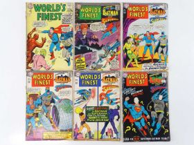 WORLD'S FINEST: STARRING BATMAN & SUPERMAN #144, 160, 164, 165, 166, 167 - (6 in Lot) - (1964/67 -