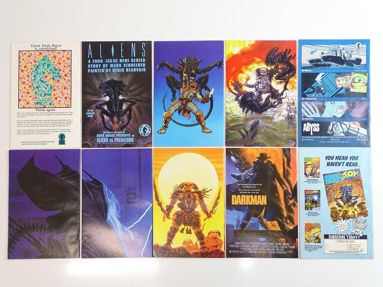 PREDATOR & ALIENS LOT (10 in Lot) - (DARK HORSE) - ALL First Printings + Includes ALIENS (1989) # - Image 2 of 2