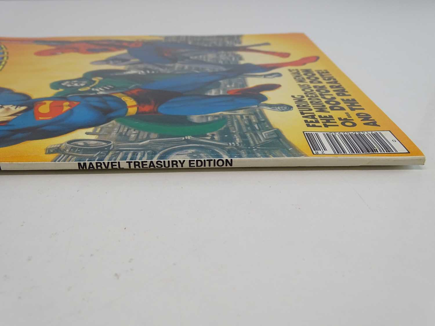 SUPERMAN AND SPIDER-MAN: COLLECTORS EDITION (1981 - MARVEL/DC) Special edition over-sized issue - Image 9 of 9