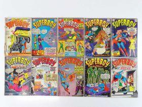 SUPERBOY #126, 128, 129, 130, 131, 132, 133, 135, 136, 137 - (10 in Lot) - (1966/67 - DC - UK