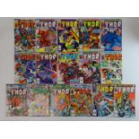 THOR #301, 302, 303, 306, 307, 308, 309, 310, 311, 312, 313, 314, 315, 316, 317, 318 - (16 in Lot) -