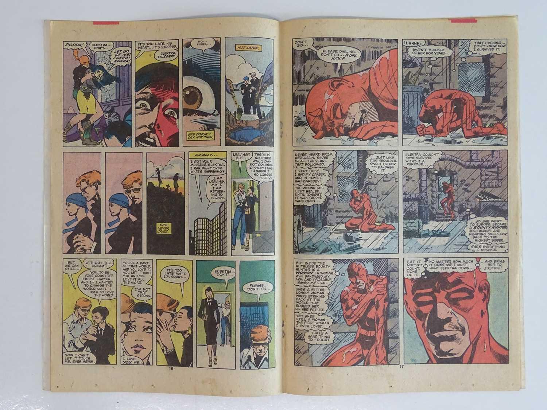 DAREDEVIL #168 - (1980 - MARVEL - UK Price Variant) - First appearance and Origin of Elektra (mis- - Image 5 of 9