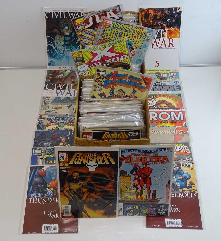 EXCALIBUR LUCKY DIP JOB LOT 310+ COMICS - Includes MARVEL, & DC - Flat/Unfolded