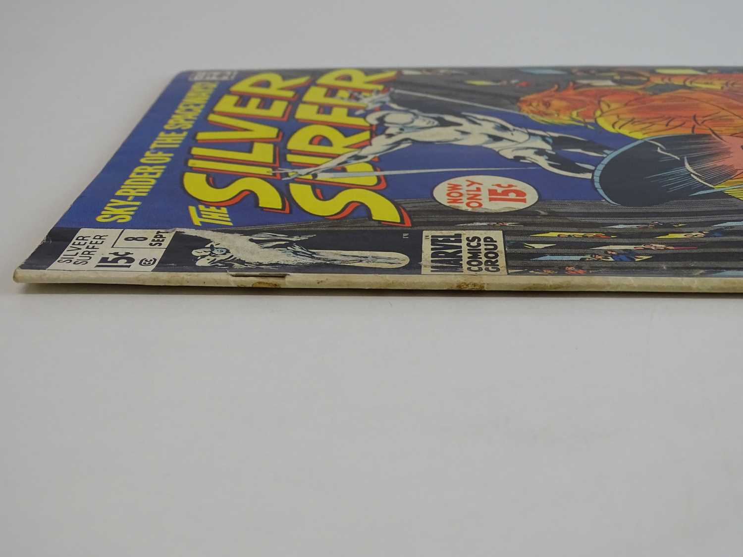 SILVER SURFER #8 - (1969 - MARVEL - UK Cover Price) First appearance of the Flying Dutchman + - Image 8 of 9