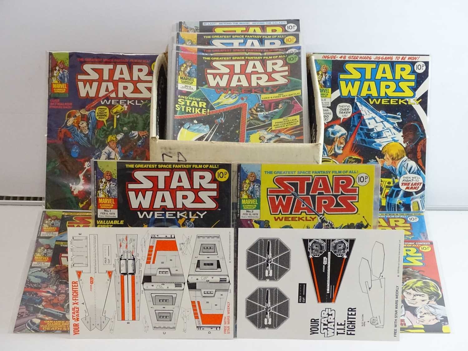 STAR WARS WEEKLY #1 to 165 - (165 in Lot) (1978/83 - BRITISH MARVEL) - Complete 165 issue run