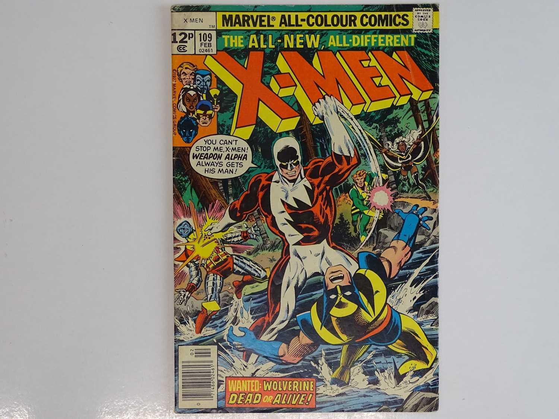 UNCANNY X-MEN #109 - (1978 - MARVEL - UK Price Variant) - First appearance of Vindicator (aka