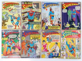 SUPERMAN #169, 183, 184, 186, 188, 190, 192 & GIANT ANNUAL #6 - (8 in Lot) - (1962/67 - DC - UK