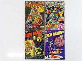 TEEN TITANS #13, 15, 20, 26 - (4 in Lot) - (1968/70 - DC - UK Cover Price) - Includes First