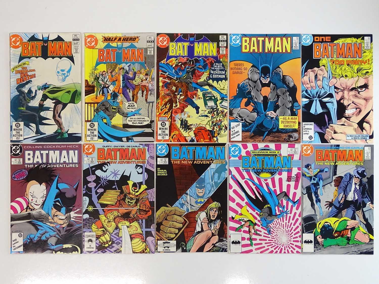 BATMAN #345, 346, 347, 402, 403, 412, 413, 414, 415, 416 - (10 in Lot) - (1982/88 - DC) - Includes