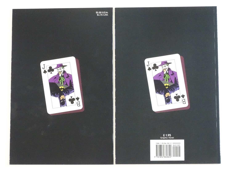BATMAN: KILLING JOKE - (2 in Lot) - (1988 - DC) - KEY Modern Batman Book - First Printings - Both DC - Image 2 of 2