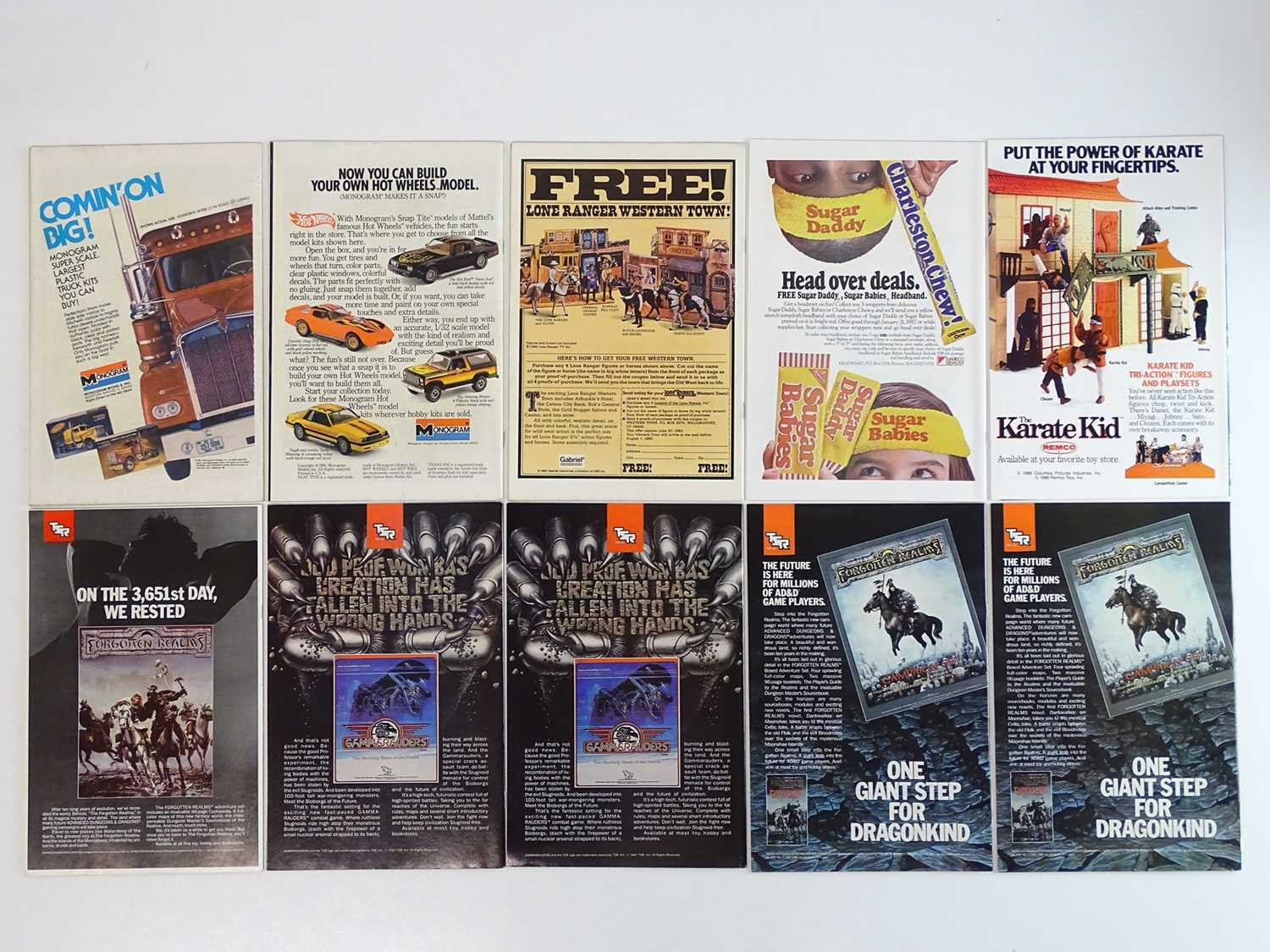 BATMAN #345, 346, 347, 402, 403, 412, 413, 414, 415, 416 - (10 in Lot) - (1982/88 - DC) - Includes - Image 2 of 2