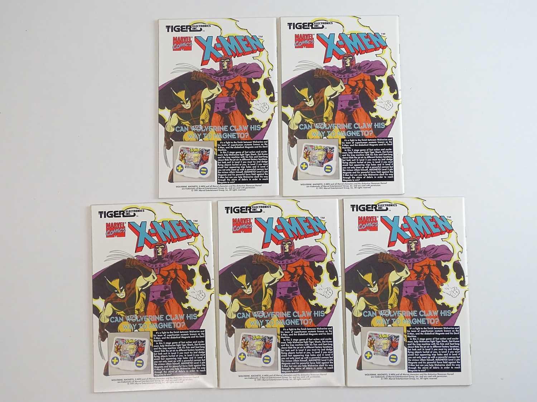 WOLVERINE #50 - (5 in Lot) - (1991 - MARVEL) - Wolverine's origin retold in more detail + - Image 2 of 2