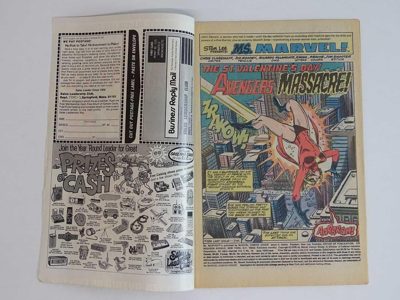 MS. MARVEL #18 - (1978 - MARVEL - UK Price Variant) - First full appearance of Mystique + Avengers - Image 3 of 9
