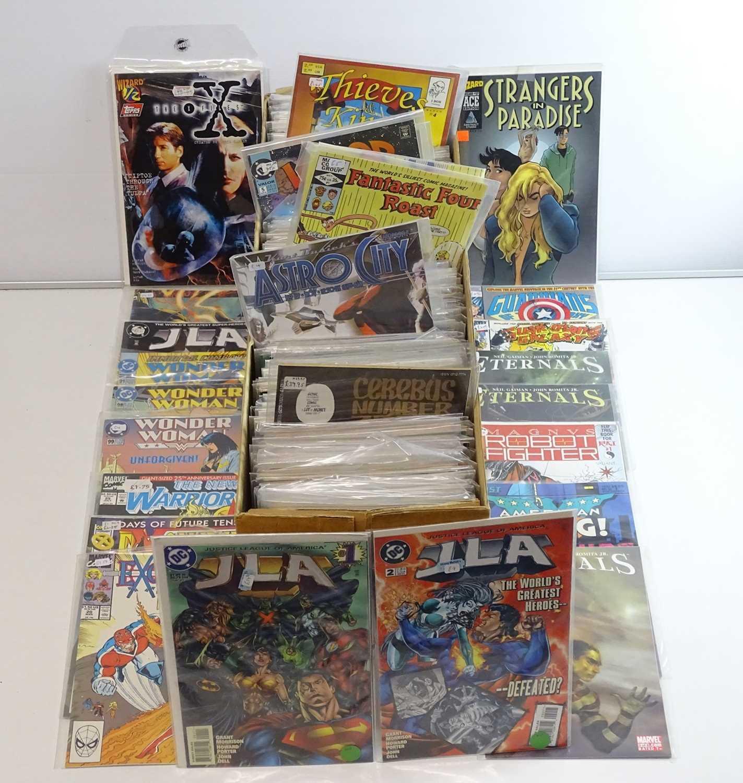 EXCALIBUR LUCKY DIP JOB LOT 310+ COMICS - Includes MARVEL, DC, ECLIPSE, INNOVATION, DARK HORSE,
