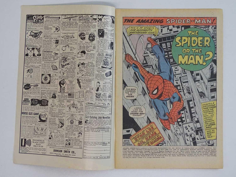 AMAZING SPIDER-MAN #100 (1971 - MARVEL - UK Price Variant) - Green Goblin, Vulture, Lizard, Doctor - Image 3 of 9